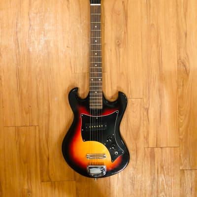 Stradolin Teisco Electric Guitar Sunburst MIJ 60s for sale