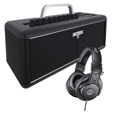 Boss Katana Air - Wireless Guitar Amp with Boss WL-T Transmitter, AT ATH-M30X Bundle for sale