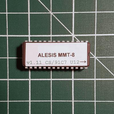 Alesis MMT-8 OS v1.11 EPROM Firmware Upgrade KIT