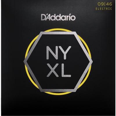 D'Addario NYXL Electric Guitar Strings   Regular Bottom