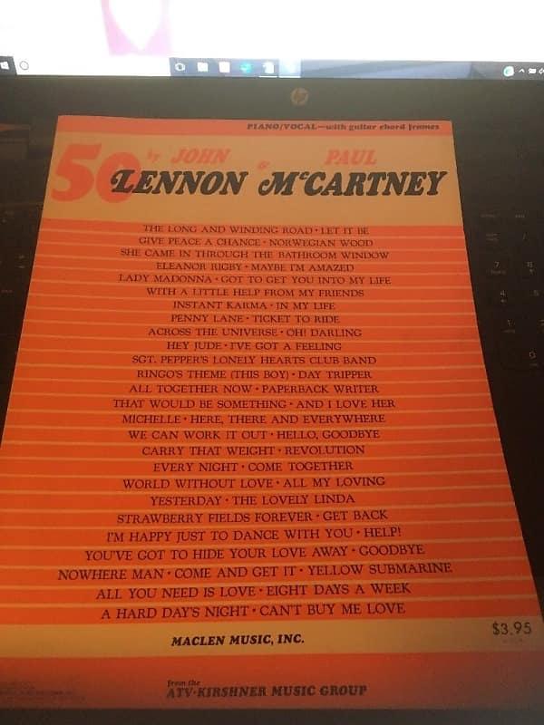 Maclen Music Inc. 50 john Lennon & Paul McCartney | Reverb