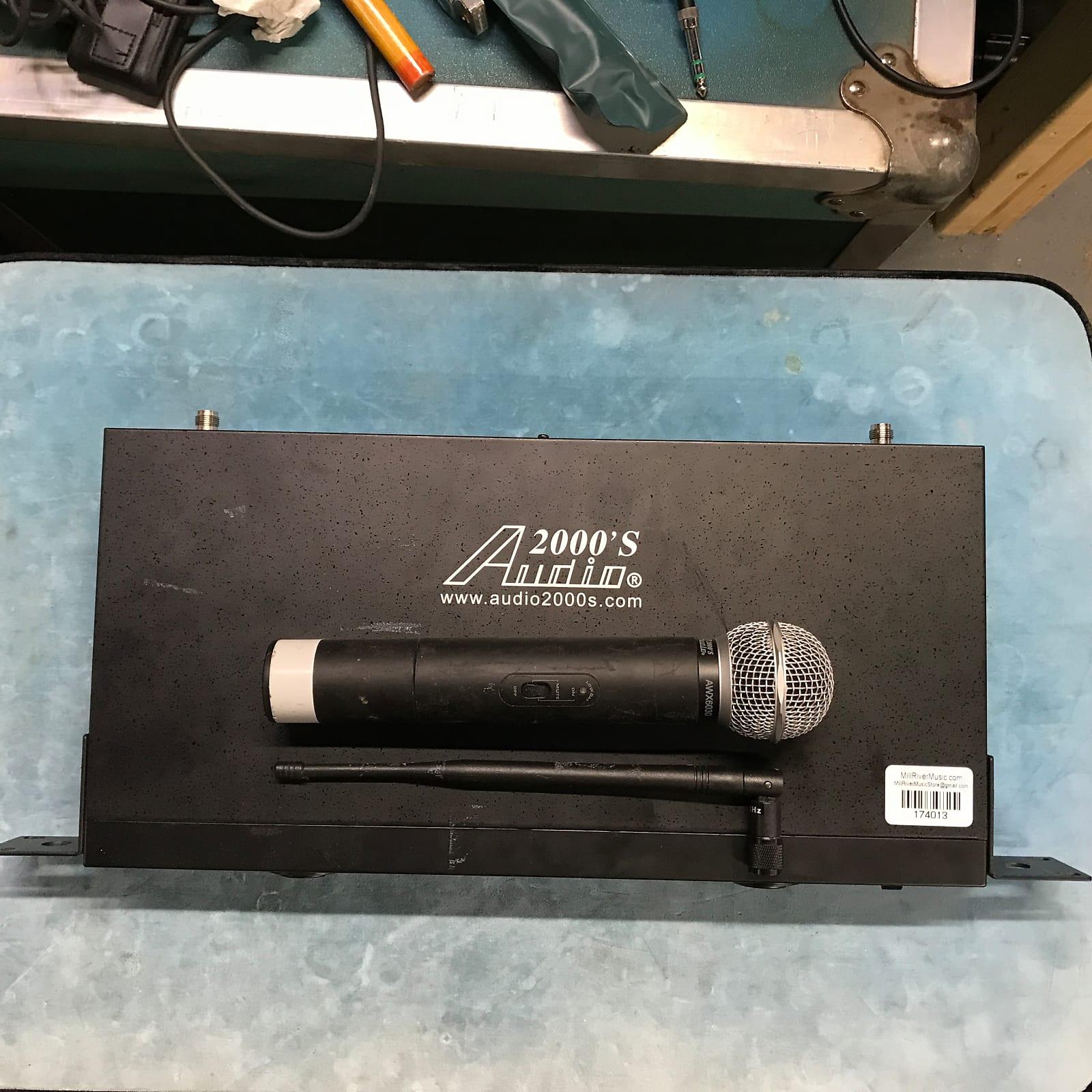 Audio2000's AWM6012U Wireless Microphone System w/ Receiver & AWX6030 Mic