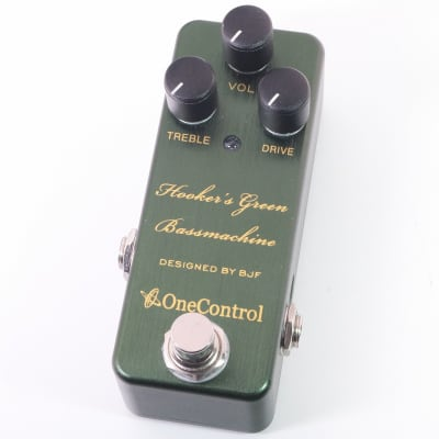 One Control Hookers Green Bass Machine for sale