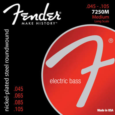 Fender Super 7250s Bass Strings 7250M 45-105