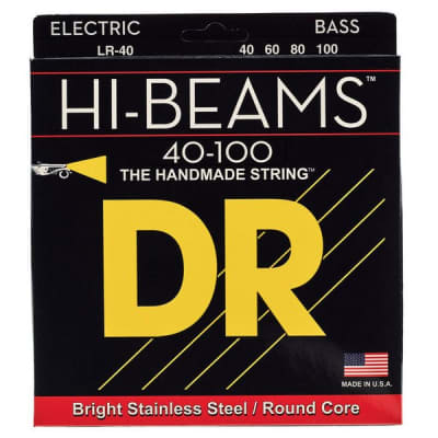 DR LR-40 Hi-Beams Bass Strings - Light