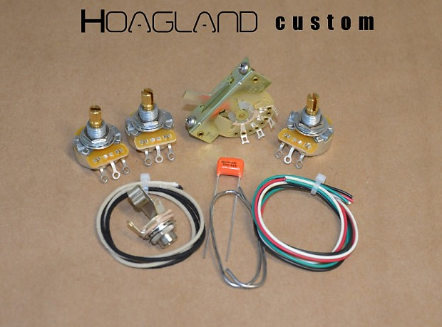 Hoagland Custom Stevie Ray Vaughan Style Stratocaster Wiring Kit High Quality: Stevie Ray Vaughan Wiring Diagram At Shintaries.co