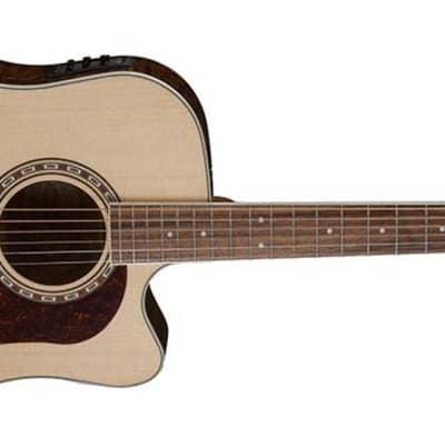 Washburn Heritage 30 Series Dreadnought Custaway Electric Acoustic Guitar for sale