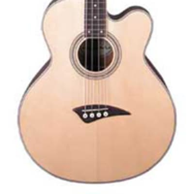 Dean EABC Cutaway Acoustic-Electric Bass Natural