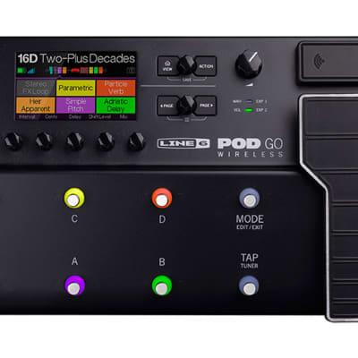 Line 6 Pod Go Wireless Multi-Effects Processor