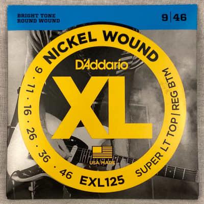 D'Addario EXL125 Super light Top Regular Bottom 9-46