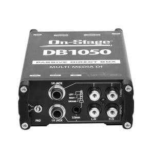 On-Stage DB1050 Passive Multi-Media DI Box