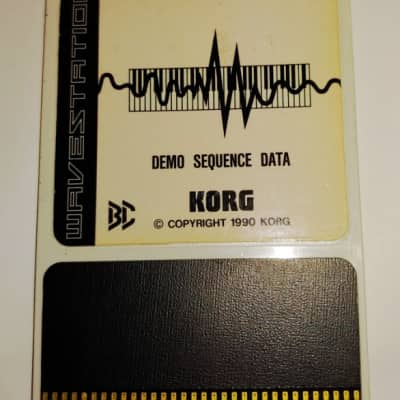 Korg Wavestation Rom WPC-OOS Demo Sequence Data