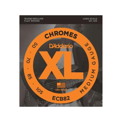 D´Addario Chromes ECB82 Flatwound Bass Strings