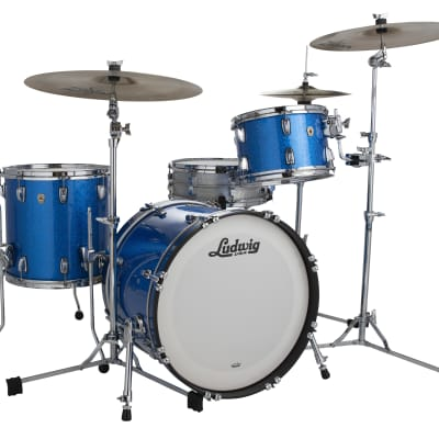 Ludwig Classic Maple Blue Sparkle 20x16, 12x8, 13x9, 14x14, 16x16 Drums - This is a Custom Listing