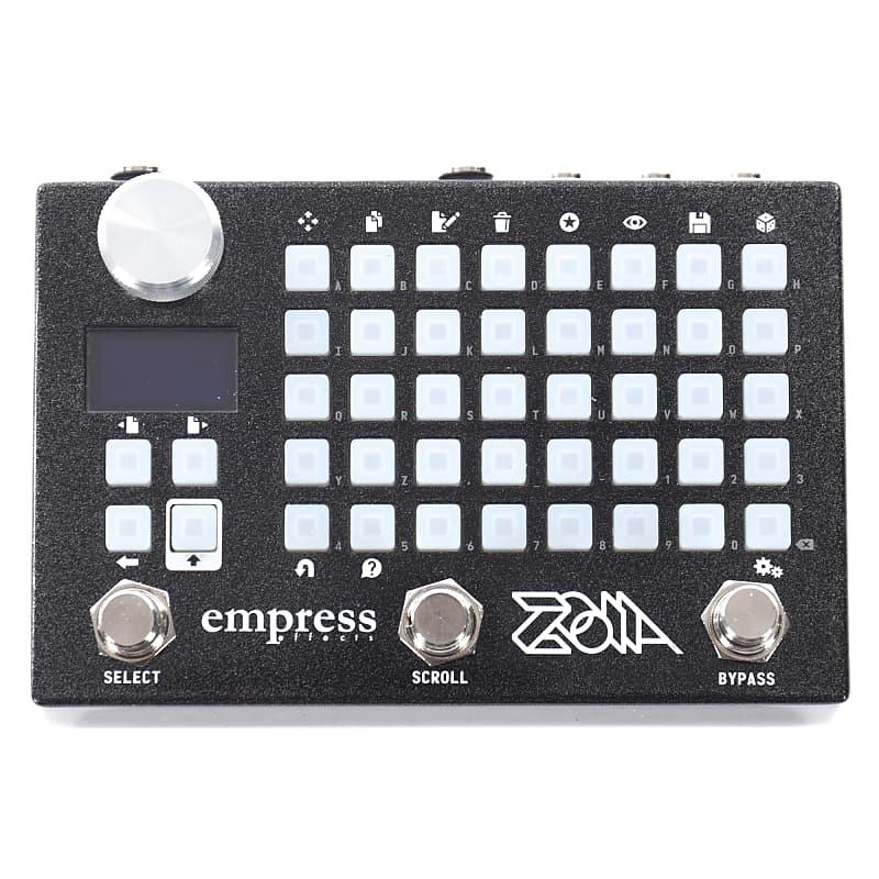 empress zoia modular synthesizer multi effect pedal reverb. Black Bedroom Furniture Sets. Home Design Ideas