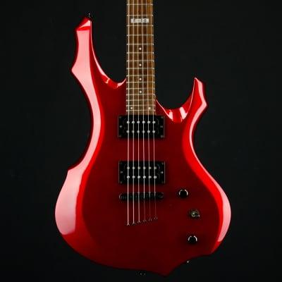 2004 ESP LTD F-50 Electric Guitar, Black Cherry Finish for sale