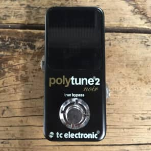 TC Electronic PolyTune 2 Noir Tuning Pedal
