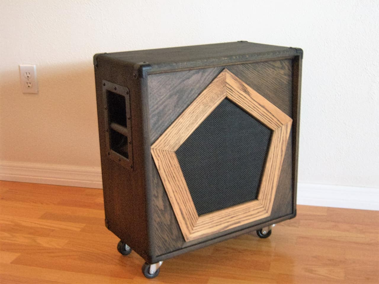 Bgc custom solid oak 1x12 cabinet beelzebub 39 s reverb for A 1 custom cabinets