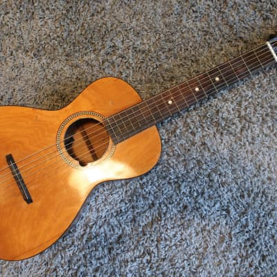 Vintage 1930s Regal Parlor Guitar Rare Children's Size Waverly Tuners Pre War Martin Washburn Ditson for sale