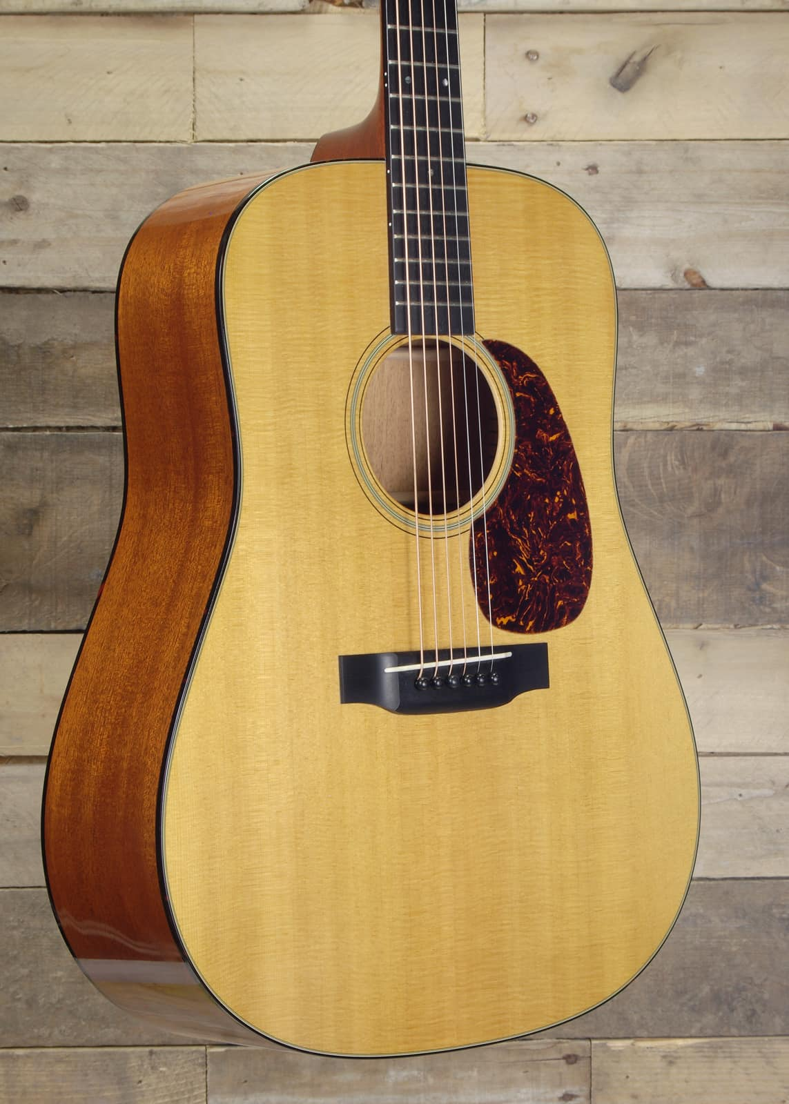 martin custom short scale d 18 acoustic electric guitar with reverb. Black Bedroom Furniture Sets. Home Design Ideas