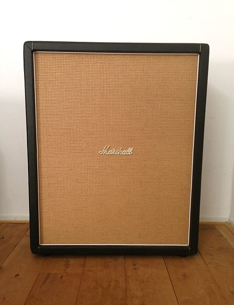 Vintage 1966 Marshall Tall Bottom 4x12 Cabinet Cab With 1966 G12M Celestion  Greenback U0027s