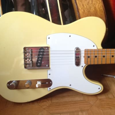 70's 1977 Fresher Telecaster Vintage yellow color Japan Rare for sale