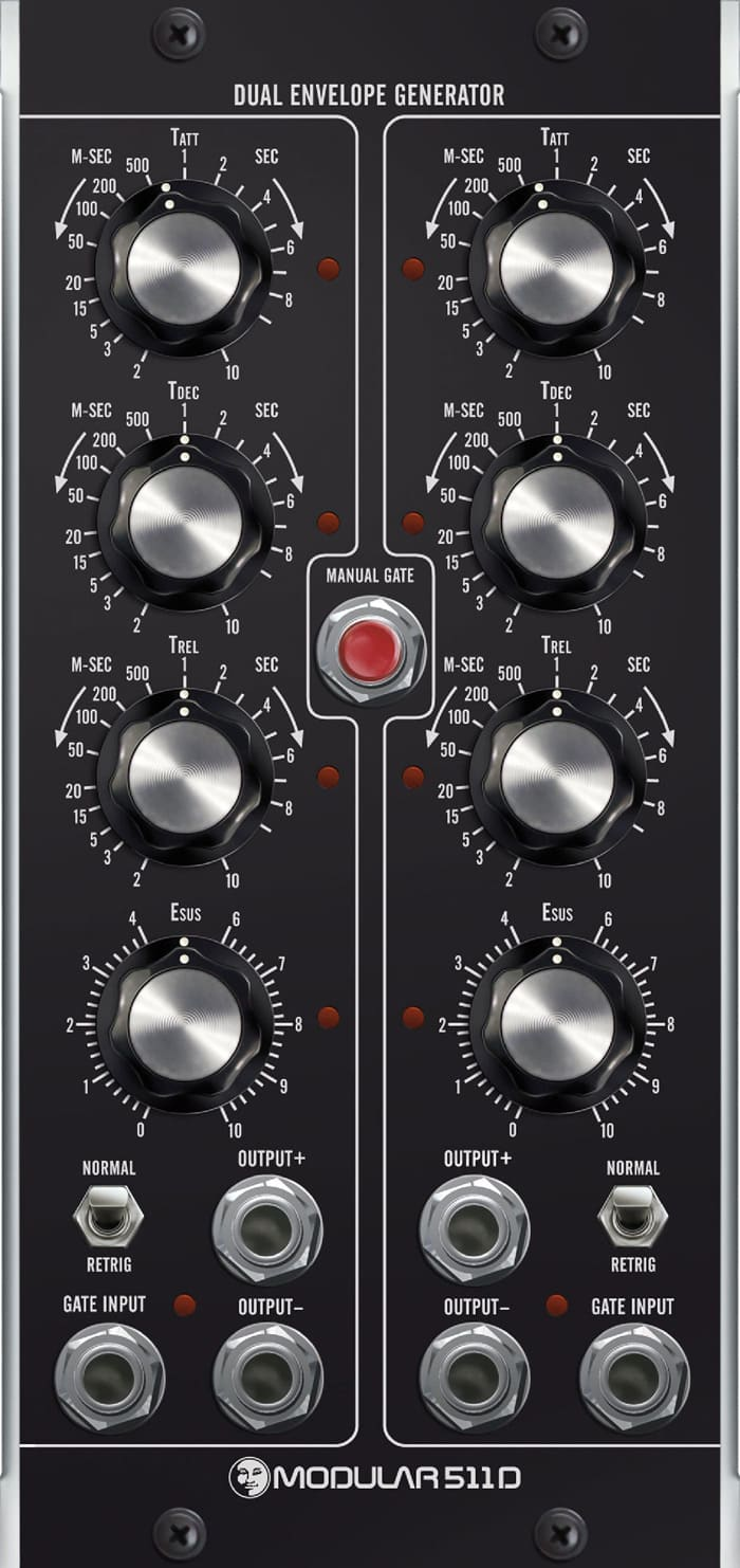 moon modular 511d dual envelope generator moog unit mu 5u reverb. Black Bedroom Furniture Sets. Home Design Ideas