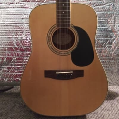 Mitchell 12-String '04 Acoustic/Electric Martin Goldline Max pu Gloss/Natural Spruce/MOP/Abalone dot