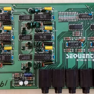 Sequential Circuits Multi-Trak Analog board ONLY