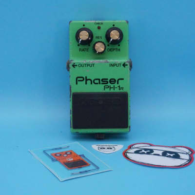 Boss PH-1R Phaser | Rare (Made in Japan) 1981 Black Label | Fast Shipping!