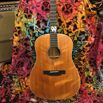 Handcrafted Crown Point Phantom EXGF Acoustic Dreadnought 2018 Bear Claw Spruce Top/Mahogany for sale