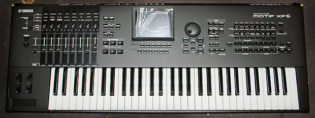 used yamaha motif xf6 synthesizer reverb. Black Bedroom Furniture Sets. Home Design Ideas