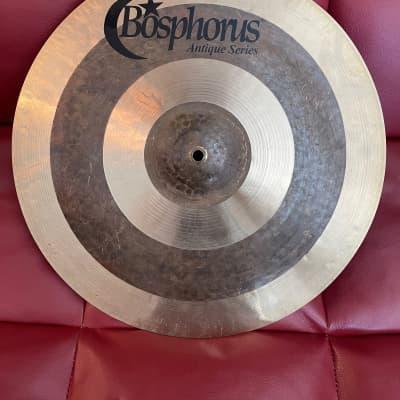 "Bosphorus 18"" Antique Series Medium Thin Crash Cymbal 1456g - Watch Video!"