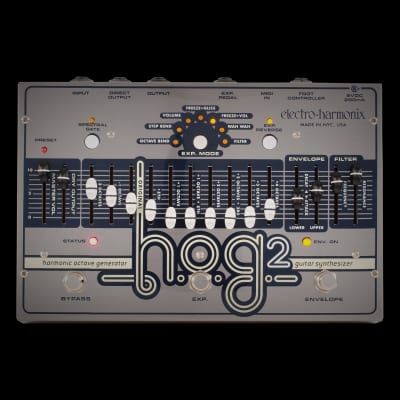 Electro Harmonix HOG 2 Harmonic Octave Generator Guitar Effects Pedal