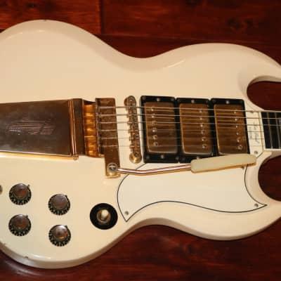 Gibson SG Custom with Maestro Vibrola 1963 - 1966