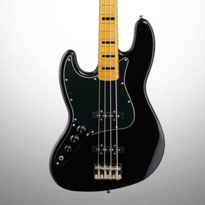Squier Classic Vibe '70s Jazz Electric Bass, Left-Handed (with Maple Fingerboard)