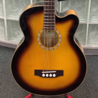 Michael Kelly Firefly 4SB Acoustic Electric Bass Guitar for sale