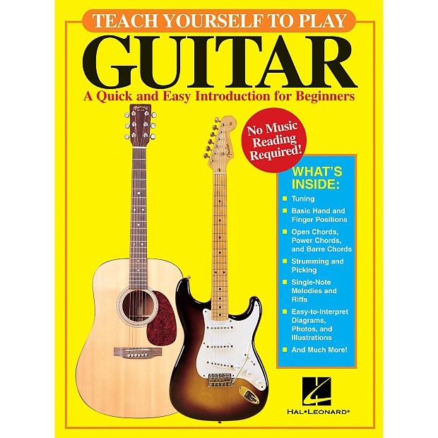 Teach Yourself To Play Guitar A Quick And Easy Introduction Reverb