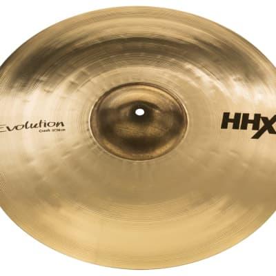 "Sabian 19"" HHX Evolution Crash Cymbal Brilliant"