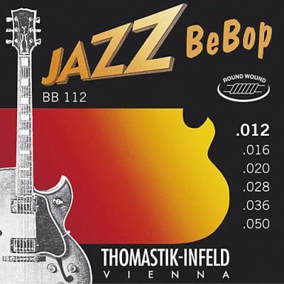 Thomastik Infeld BB112 Jazz BeBop Round Wound Electric Guitar Strings 12-50