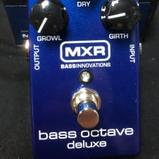 MXR M288 Bass Octave Deluxe Effects Pedal Blue Sparkle Authorized Dealer!!