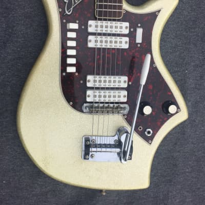 Eko 700 4V 1963 Gold Sparkled for sale