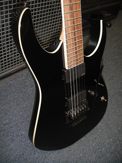 ibanez rgir20e black iron label electric guitar new store reverb. Black Bedroom Furniture Sets. Home Design Ideas