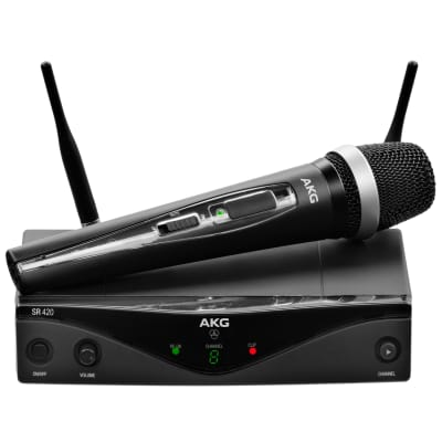 AKG WMS420 Vocal Set Wireless Microphone System (Band A)