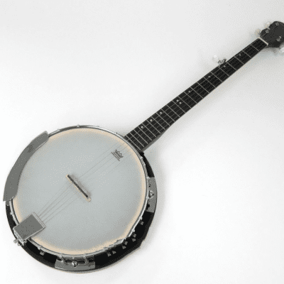 Trinity River PRB200 Prairie Star Full Size 5-String Banjo with Deluxe Padded Carrying Bag for sale