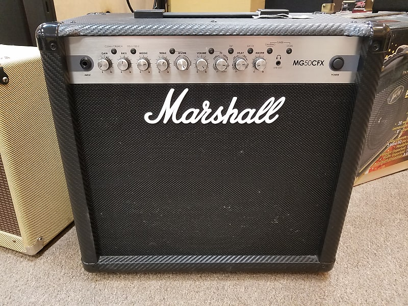 marshall mg50cfx 1x12 50w guitar combo reverb. Black Bedroom Furniture Sets. Home Design Ideas