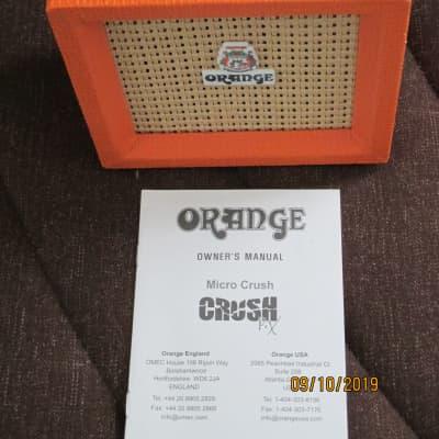 Orange Micro crush PX ?3Watt Amp for sale