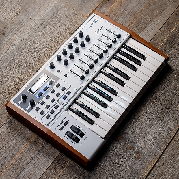 arturia keylab 25 midi controller used reverb. Black Bedroom Furniture Sets. Home Design Ideas