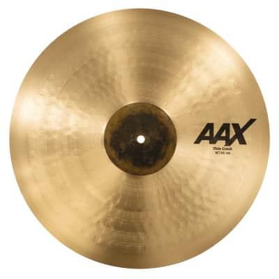 """Sabian 18"""" AAX Thin Crash Cymbal"""