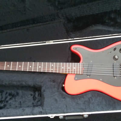 Fender Bullet 1981 Fiesta Red + Original Case for sale